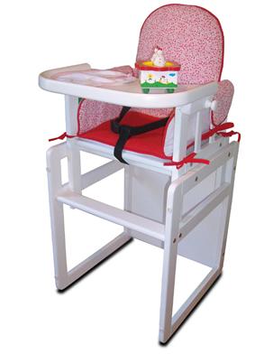 Capri kids muebles y juguetes infantiles de madera for Silla de bebe de madera